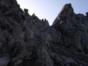 Seescharte von Zams zur Memminger Hütte