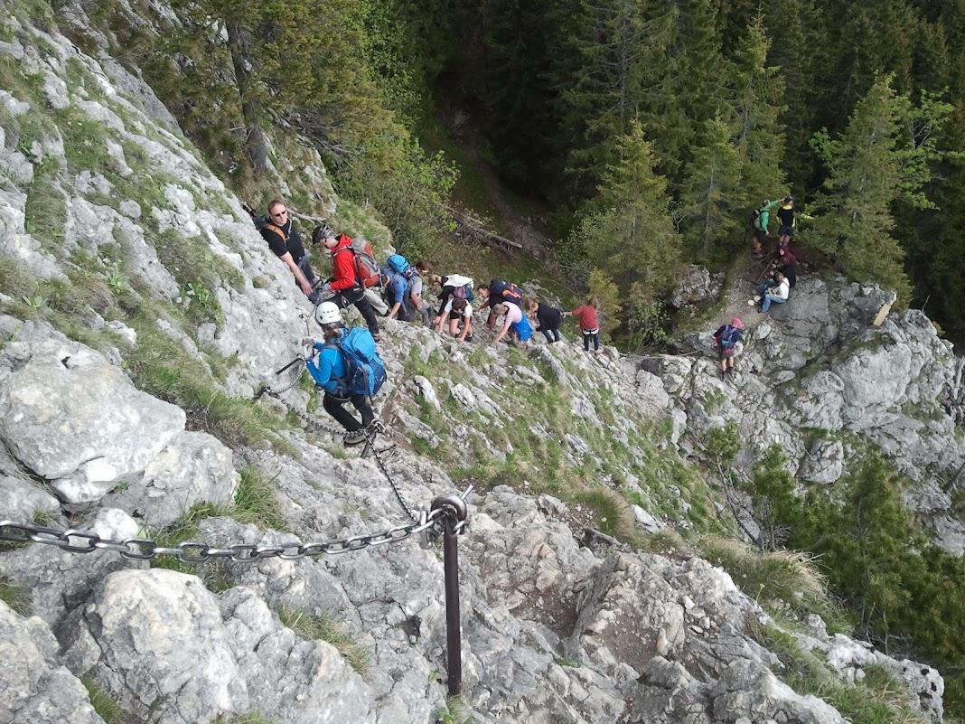 Klettersteig Am Ettaler Mandl : Kurztour auf das ettaler mandl m e fernwanderweg