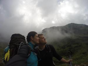 Michelle und Johannes Alpenüberquerung