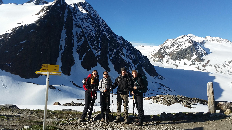 E5, Alpenüberquerung, Transalp