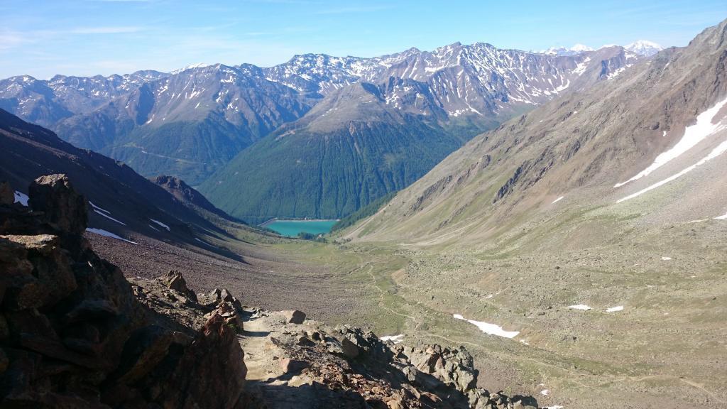 So einen Anblick gibt es nur bei der Alpenüberquerung © Christian Pötzsch