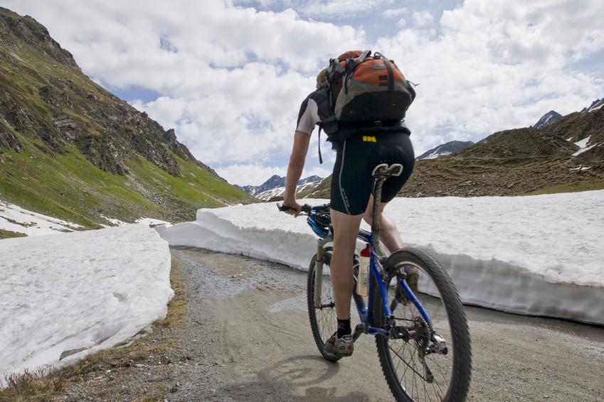 Alpenüberquerung Mountainbike
