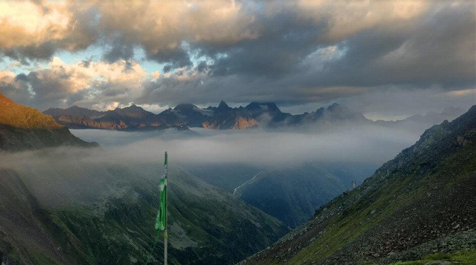 Das Wetter Bei Der Alpenüberquerung E5 Alpenüberquerung
